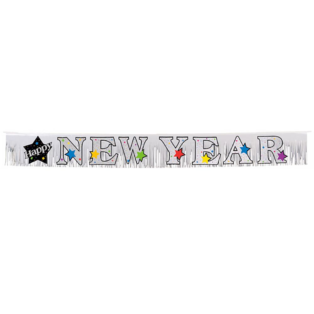 happy new year banner amscan 120024 1 piece