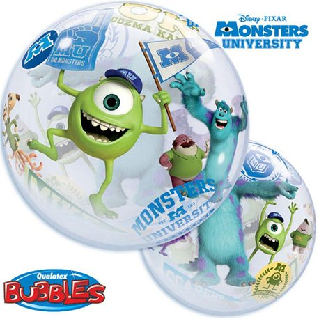 Balon Bubble Monsters University,Qualatex, 56 cm, 44711