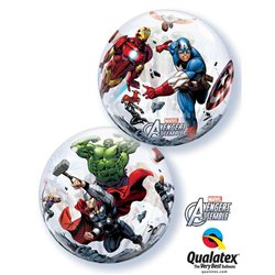 "Balon Bubble 22"" Marvel's Avengers Assemble, Qualatex, 56 cm, 93052"