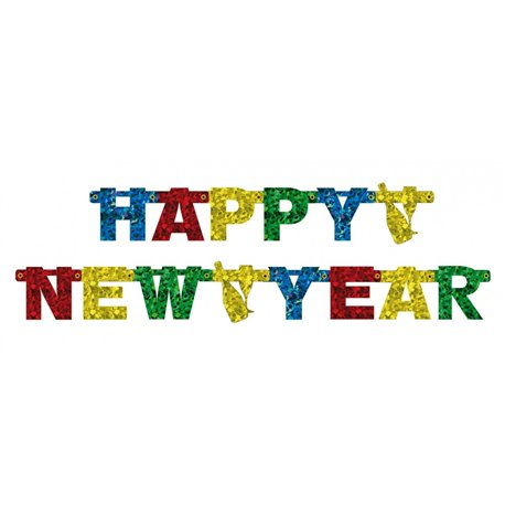 happy new year banner 18 m amscan 550176 1 piece