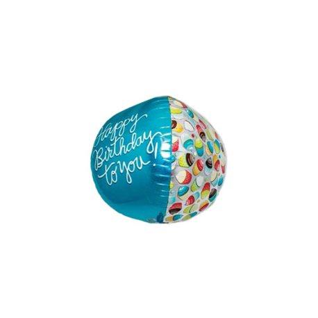 Ballon Happy Birthday to You 3D, 45 cm, 01016