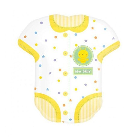 "Baby Onesie Supershape, Anagram, 24"" x 22"", 18060"