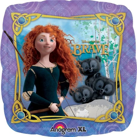 Disney Brave Party Mini Airfill Balloon, 45 cm, 24834
