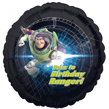 Toy Story Buzz Too Birthday Ranger Balloon, 45 cm, 24158