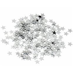 Confetti stelute argintii din folie pentru party si evenimente, Radar SPC.F.SS, 1 Kg/Pachet