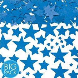 Confetti stelute albastre din hartie pentru party si evenimente, Radar SPC.P.BS, 1 Kg/Pachet