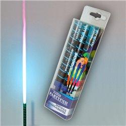Artificii de tort cu flacara albastra 12 cm, Pyrogiochi R41027, set 3 buc