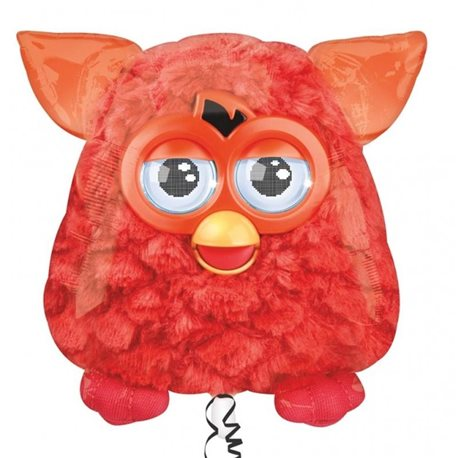 Furby Birthday Party - Furby Supershape Foil Balloon, 60 x 60 cm, 27416