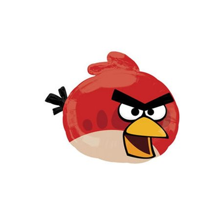 Angry Birds Red Bird SuperShape Foil Balloon, 54x51 cm, 24810