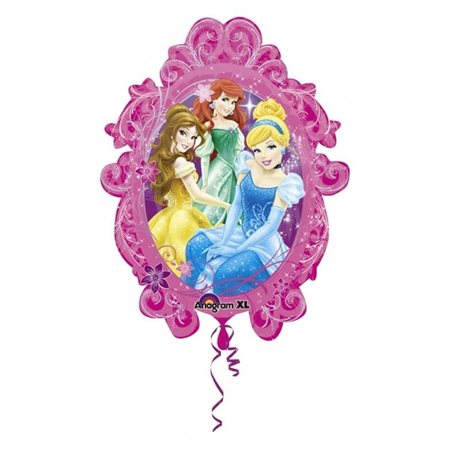 Balon Folie Figurina Printesele Disney, 66x78cm,  27149