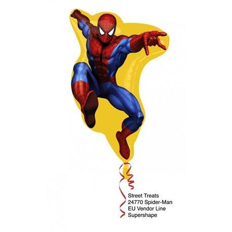 Balon Folie Figurina ST Spiderman Umflat cu Heliu, 24770He