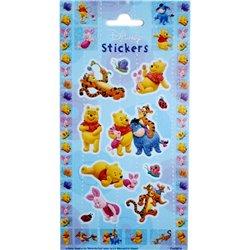 Stickere decorative pentru copii - Winnie the Pooh, Radar 0874, Set 15 piese