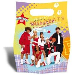 Pungute pentru cadouri copii la petreceri - High School Musical, Amscan RM551386, Set 6 buc
