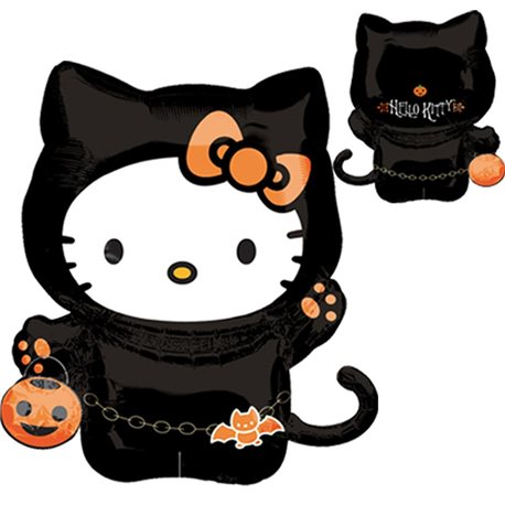 Balon Folie Figurina Hello Kitty Halloween, 16212