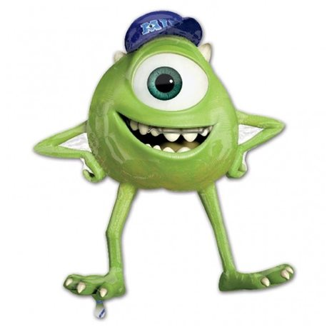 Monsters University Mike Wazowski Jumbo Mylar Balloon, 76x86 cm, 26202