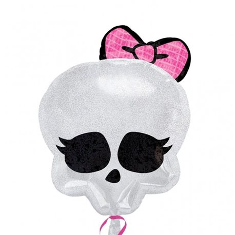 Monster High Skull Foil Balloon Junior Shape, 45cm, 21147