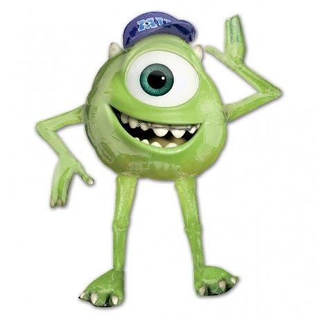 Giant Mike Disney Monsters University Foil Airwalker Supershape Balloon, 129 x 137, 111199