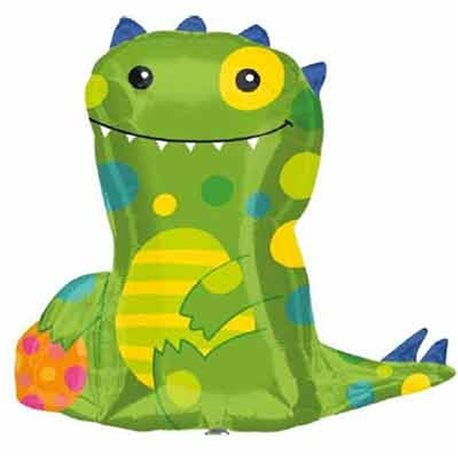 Friendly Monster Mylar Balloon, 61 cm, 22987