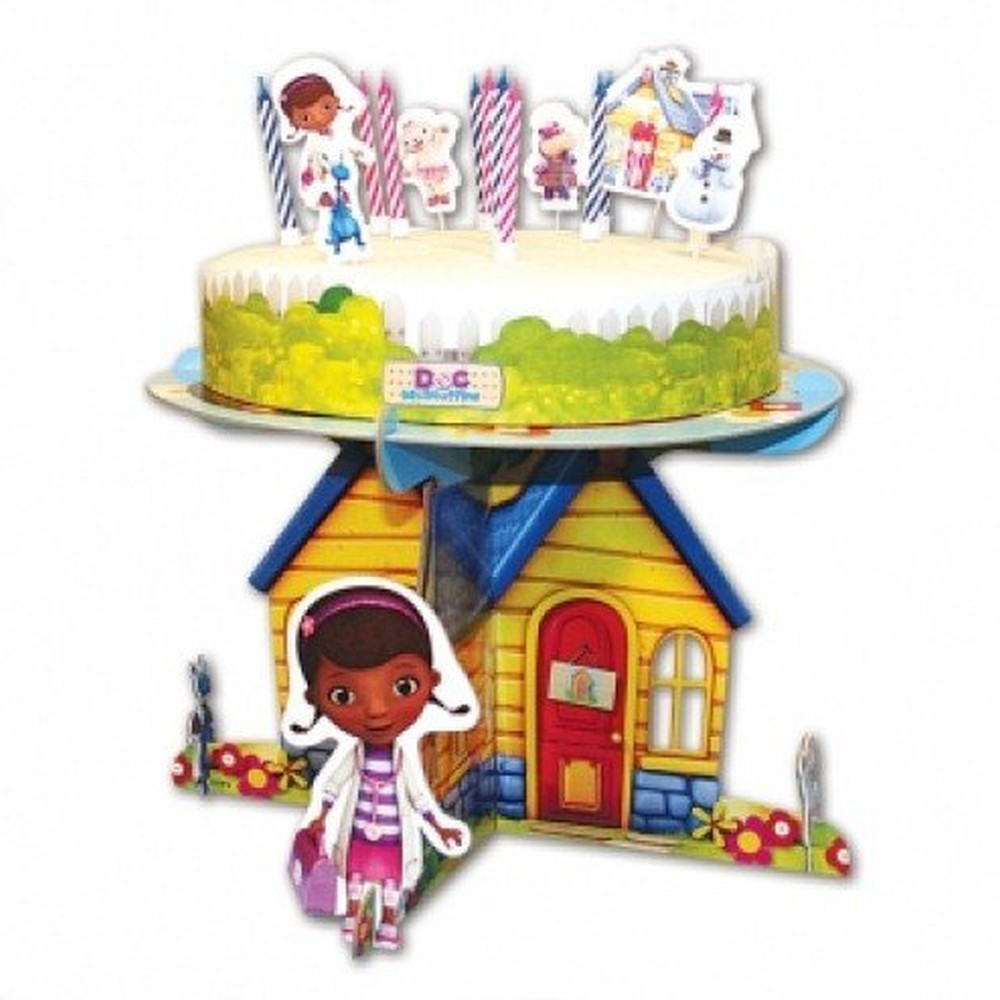 Doc Mcstuffins Party Cake Stand