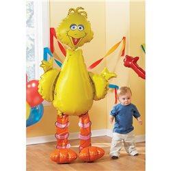 Big Bird AirWalkers Foil Balloon, 160 cm, 08358
