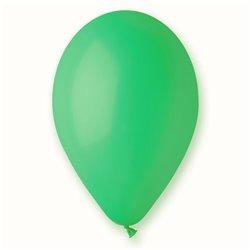 Baloane latex 30 cm, Verde 13, Gemar G110.13, set 100 buc
