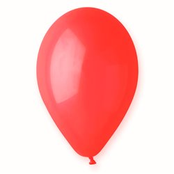 Red 45 Latex Balloons , 10 inch (26 cm), Gemar G90.45, Pack Of 100 pieces