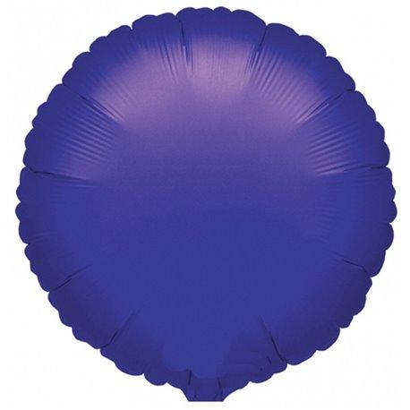 Balon folie violet metalizat rotund - 45 cm, Anagram 21616, 1 buc