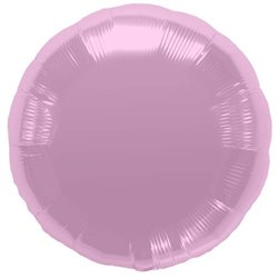 Balon folie pastel pink metalizat rotund - 45 cm, Northstar Balloons 00735, 1 buc