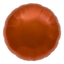 Balon folie orange metalizat rotund - 45 cm, Northstar Balloons 00738, 1 buc