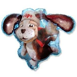 "Vipo The Flying Dog Shaped Balloon 26"" Foil Balloon, 65x85 cm, 901678"
