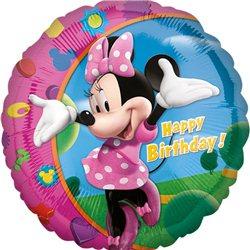 Balon Folie Minnie Happy Birthday, Anagram, 45 cm, 17797