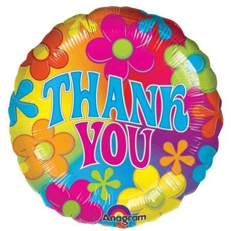 Balon Folie 45 cm Thank You, Anagram, 07068
