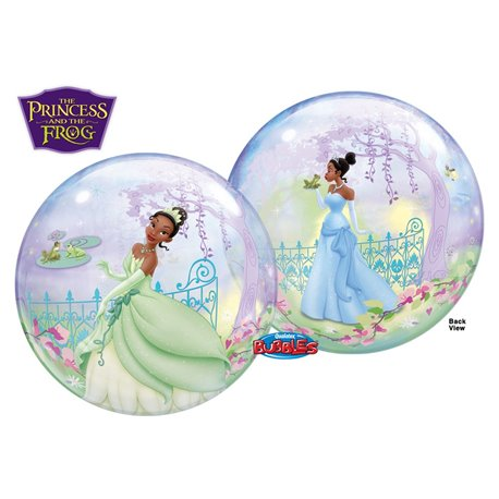 """Princess And The Frog Bubble Balloon - 22""""/56cm, Qualatex 24404, 1 piece"""
