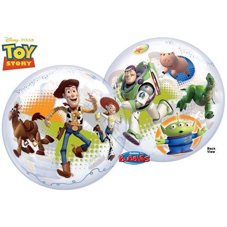 "Balon Bubble Toy Story - 22""/56cm, Qualatex 25871, 1 buc"
