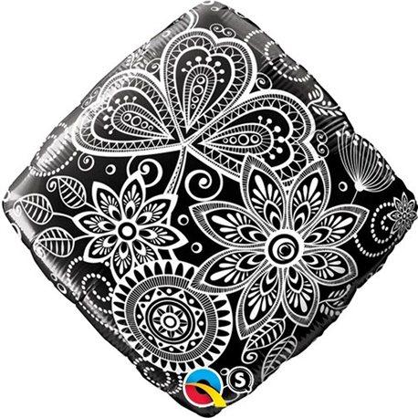 Balon Folie 45 cm, Qualatex, Damasc, 34430