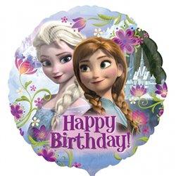 Balon Folie 45 cm Frozen Happy Birthday, Anagram 2900901