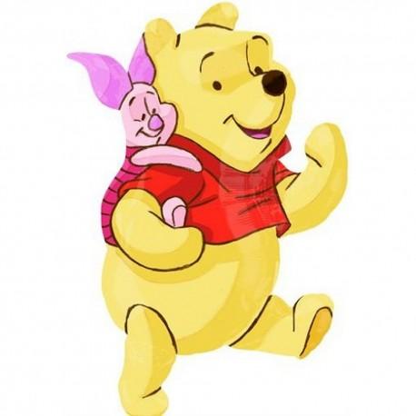 Balon Folie Figurina Disney Winnie the Pooh si Prietenii - 81 cm, Anagram 22924ST