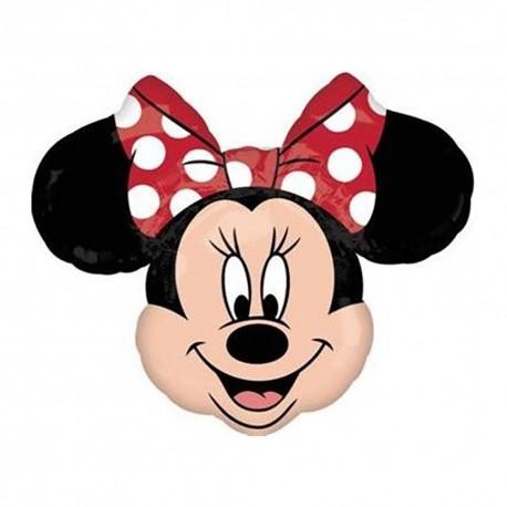 Minnie Mouse Shape Foil Balloon - 71x58 cm, Anagram 22912ST