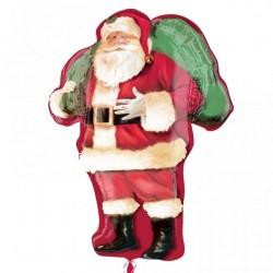Santa Claus Shape Foil Balloon - 86 cm, Anagram 25143