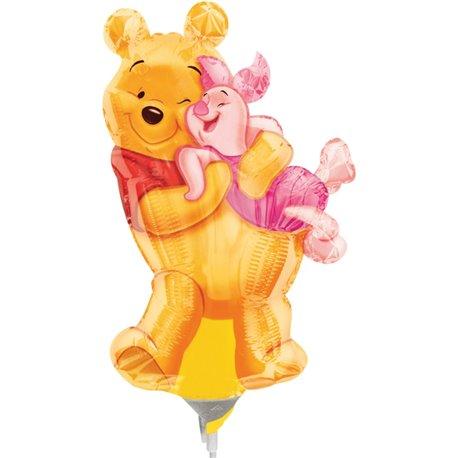Balon Mini Figurina Big Pooh Hug, Anagram, 23 cm, 08334