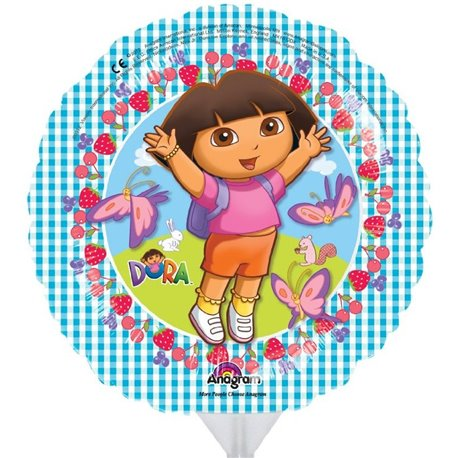 "Balon Mini-Folie Dora the Explorer -  9""/23cm, Anagram 2545009"