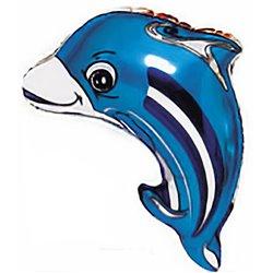 Balon Folie Figurina Delfin, 69x63 cm, 901507