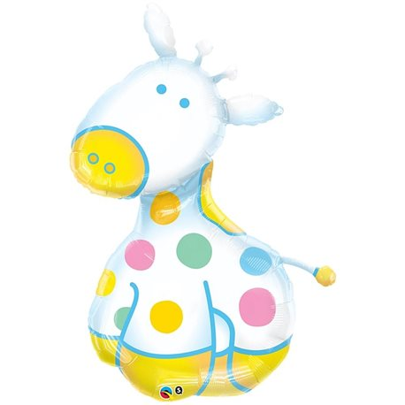 Balon Folie Figurina Girafa Jucausa, 122 cm, 29685