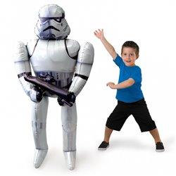 Balon Folie Airwalker Star Wars Storm Trooper - 132 cm, Anagram 3040101