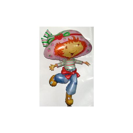 Strawberry shortcake supershape foil balloon, 81 cm, 09284