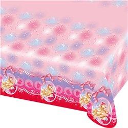 Fata de masa din plastic - Barbie Pink Shoes - 180x120cm, Amscan RM552388, 1 buc