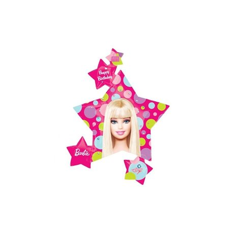 Barbie Stars SuperShape Foil Balloon, 81 x 89cm, 118225