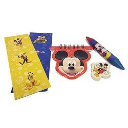Pachet rechizite cu Mickey Mouse, Amscan RM996492, Set 20 buc