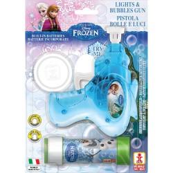 Frozen Bubbles Gun with lights and sounds, Dulcop 087000, 1 piece