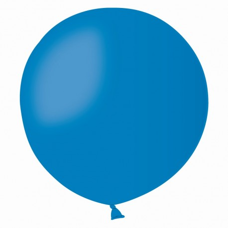 Balon Latex Jumbo 48 cm, Albastru 10, Gemar G150.10, 1 buc